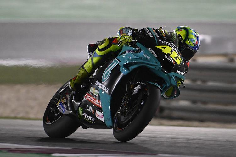 Hasil MotoGP Doha bagi Valentino Rossi, Tertinggal 14,2 Detik dari  Quartararo Halaman all - Kompas.com