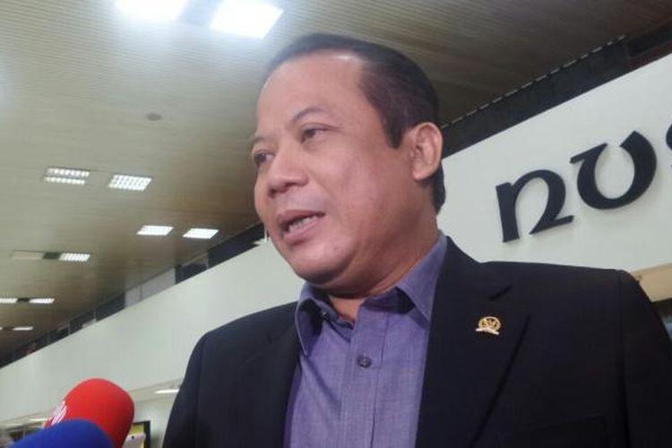 Wakil Ketua DPR RI Taufik Kurniawan di Kompleks Parlemen, Senayan, Jakarta, Senin (6/3/2017).