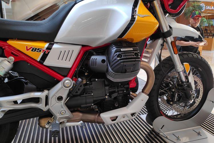 Moto Guzzi perkenalkan motor petualang terbaru V85TT