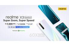 Realme X3 SuperZoom, Smartphone Kekinian dengan Kemampuan Zoom 60 Kali