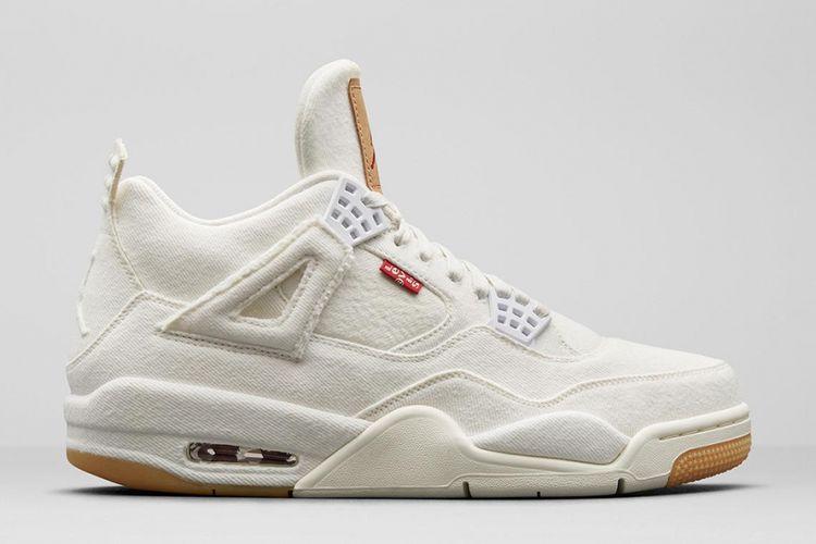 Air Jordan 4 x Levis