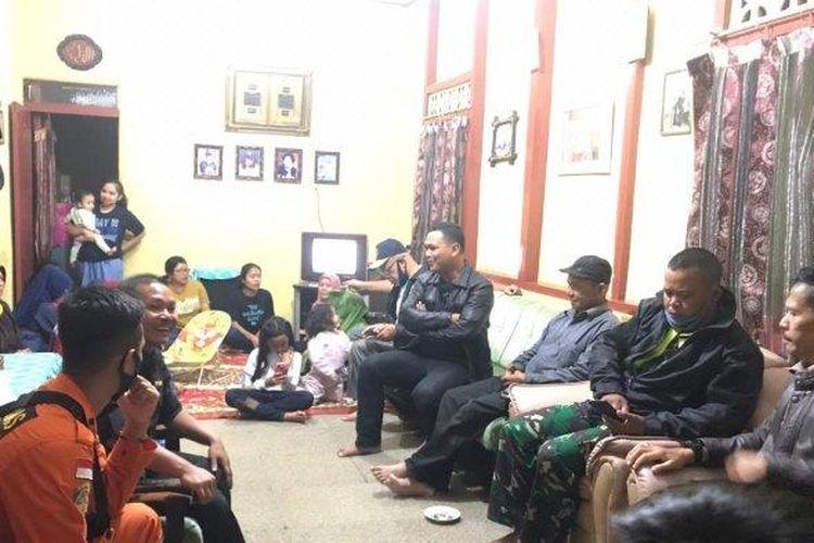 Syahrial, petani yang hilang dua hari karena tersesat sudah pulang ke rumah.