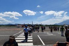 157 Warga Manado Kembali dari Wamena, 42 Orang Diangkut Hercules