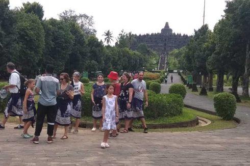Cegah Corona, Pengunjung Candi Borobudur Dibatasi Sampai Zona 1