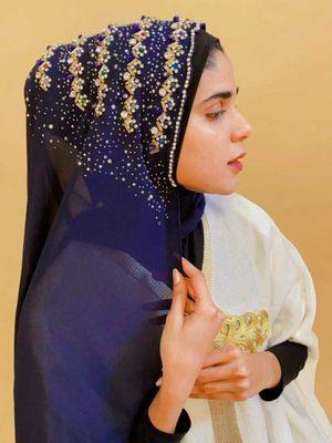 Hijab bando payet.