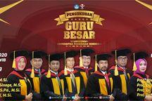 Sumbang Pemikiran untuk Pembangunan Pendidikan Indonesia, UPI Kukuhkan 8 Guru Besar