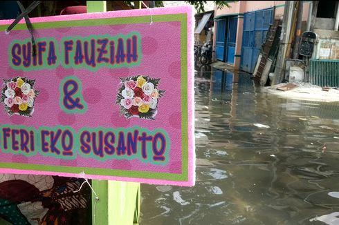 [VIDEO] Berkunjung ke Pesta Pernikahan yang Terkepung Banjir
