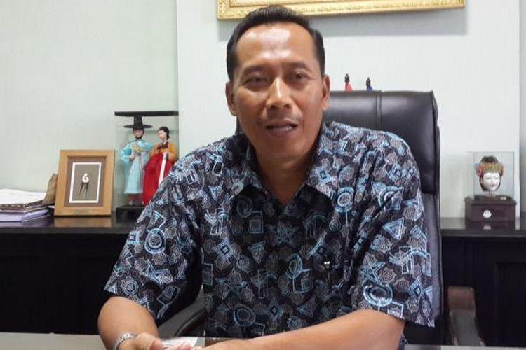 Rektor Universitas Muhammadiyah Malang (UMM) Fauzan saat ditemui di ruang kerjanya, Rabu (27/7/2016)