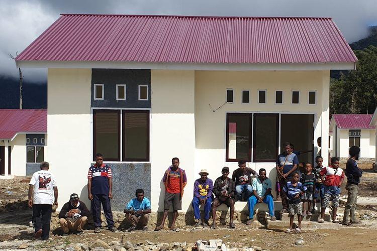 Rumah khusus (rusus) di Pegunungan Arfak, Provinsi Papua Barat.