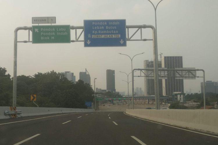 Jalan Tol Depok-Antasari.