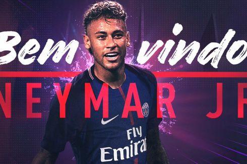 Resmi, Neymar Berseragam Paris Saint-Germain