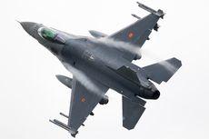 Jet Tempur F-16 Belgia Jatuh, Pilot Tersangkut di Kabel Listrik Tegangan Tinggi