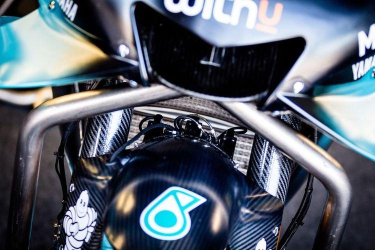 Sensor temperatur ban pada motor MotoGP