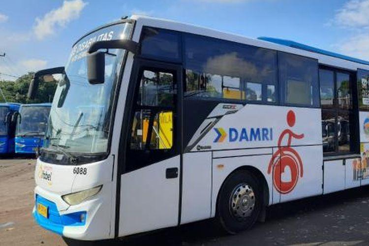 Bus Damri Ramah Disabilitas dan Lansia Beroperasi di Mataram