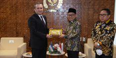 Wakil Ketua DPR Harapkan Hubungan Bilateral Indonesia-Uzbekistan Makin Efektif dan Inovatif