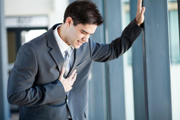 Ilustrasi nyeri dada, serangan jantung