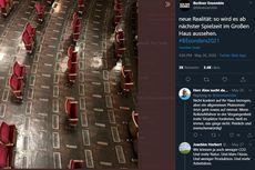 Gedung Teater di Jerman Atur Ulang Bangku Penonton Sesuai Prinsip Jarak Aman