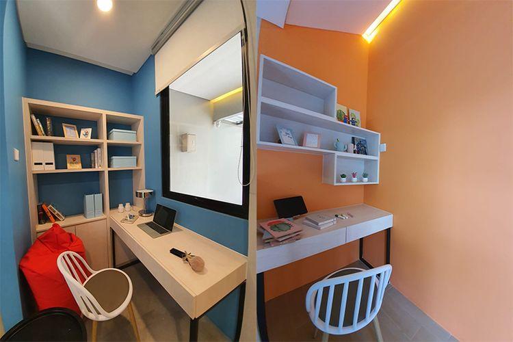 Ruang kerja dan ruang belajar