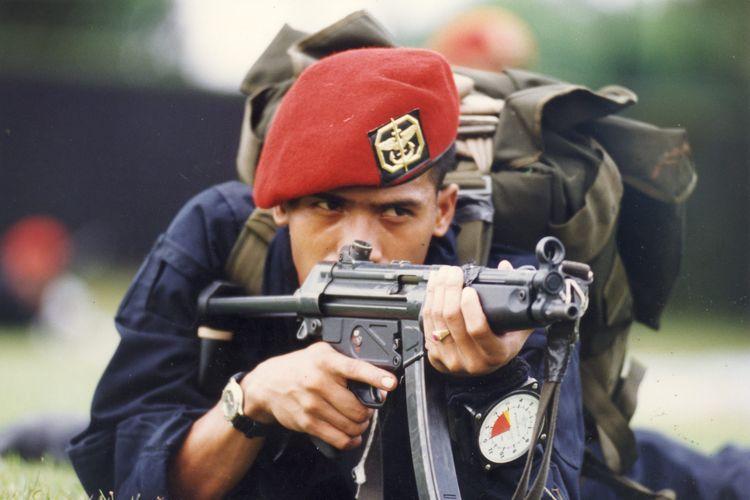 Pasukan Baret Merah Kopassus