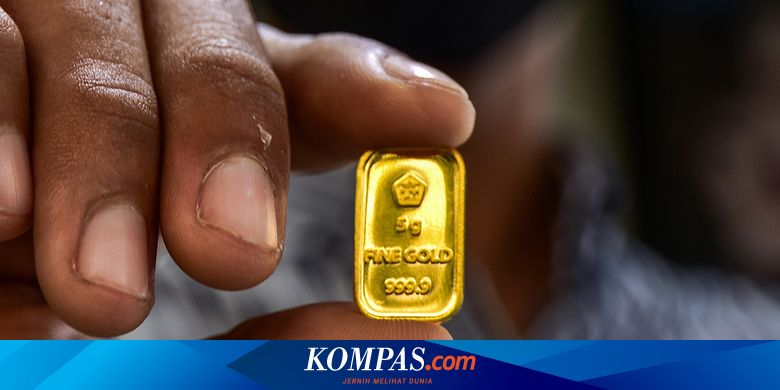 ANTM Naik Rp 3.000, Simak Rincian Lengkap Harga Emas Antam Hari Ini