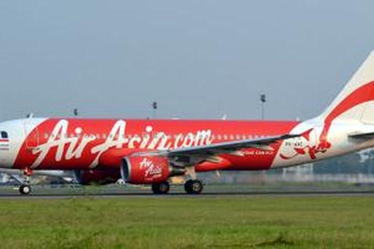 PK-AXC, Airbus A320-200 yang dioperasikan oleh maskapai Indonesia AirAsia, yang hilang sejak Minggu (28/12/2014). Foto diambil pada 7 September 2011 di Bandara Soekarno-Hatta, Tangerang, Banten.