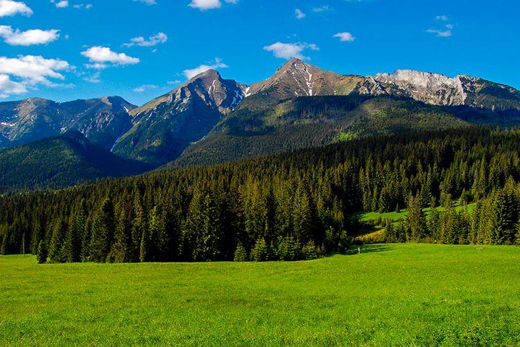 Pergunungan Tatra di Slovakia.