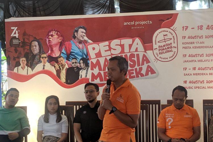 VP PT Pembangunan Jaya Ancol  Budi Aryanto di Ancol, Rabu (14/8/2019)