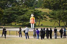 Boneka Younghee dalam Squid Game Muncul di Korea Selatan, Warga Ikut Bermain