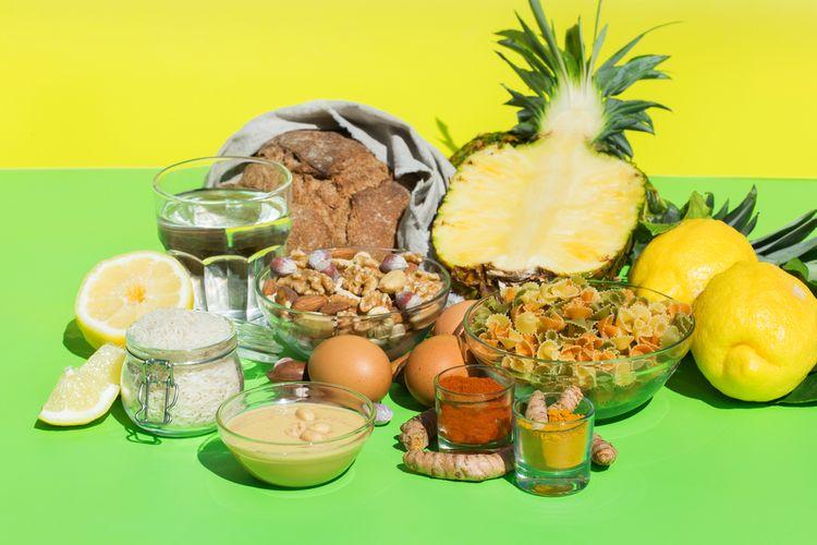 Ilustrasi diet rendah purin