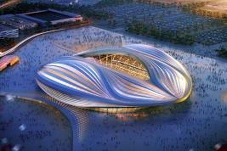 Dia merasa telah tertukar dan menyebutkan jumlah kematian dalam proses konstruksi di Qatar selama 2012 hingga 2013 dengan jumlah kematian pekerja konstruksi di proyek Stadion Al Wakrah karya Hadid.