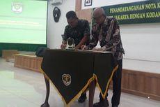PT MRT Kerja Sama dengan Kodam Jaya untuk Pengamanan Kereta