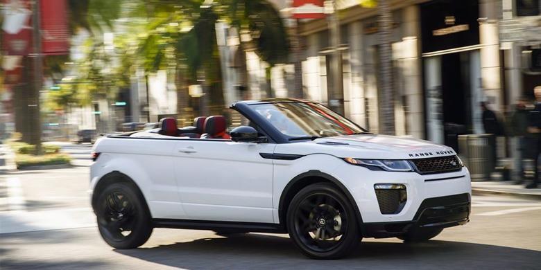 Range Rover Evoque Convertible 2016.