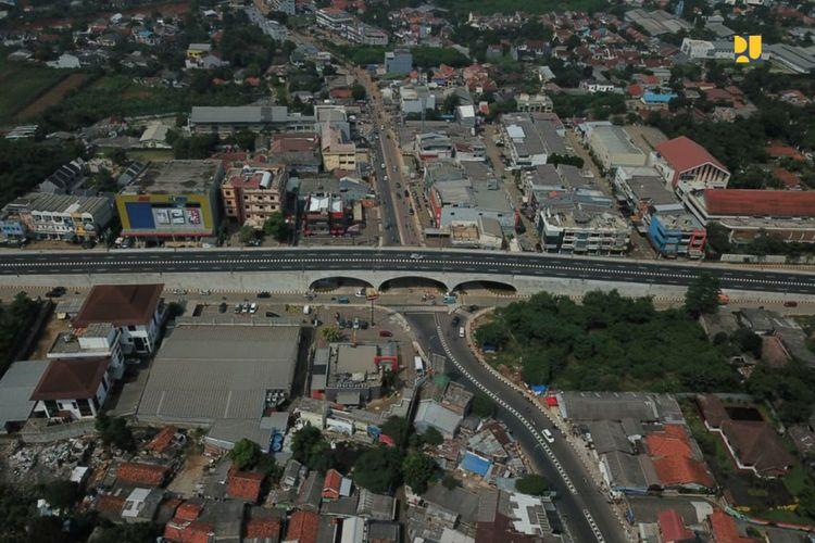Dukung Jalur Distribusi Logistik Jabodetabek, Kementerian PUPR Selesaikan Flyover Martadinata Simpang Gaplek Tangsel
