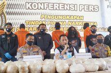 Tersangka Kasus Sabu 402 Kilogram Terancam Hukuman Mati