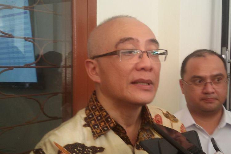 Kepala BKN Bima Haria Wibisana dan Gubernur Kepulauan Bangka Belitung Erzaldi Rosman seusai peresmian UPT BKN Pangkal Pinang, Rabu (14/8/2019).