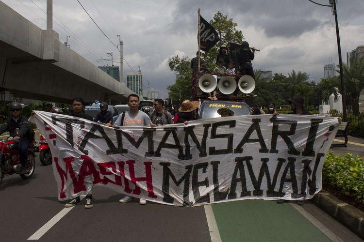 Perjuangan warga Tamansari mencari keadilan