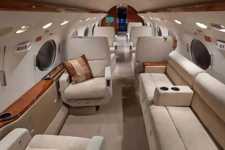 Isi jet pribadi Lionel Messi.