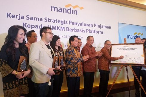 Bank Mandiri Jalin Kolaborasi dengan e-Commerce dan Tekfin