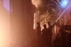 Kebakaran di Permukiman Padat Riau, 5 Rumah Kontrakan Hangus