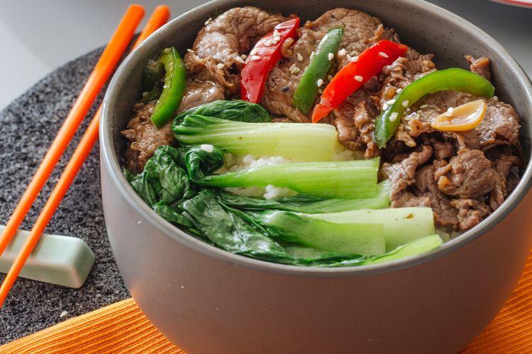 Resep Praktis Teriyaki Rice Bowl Sajian Ala Jepang Untuk Keluarga Halaman All Kompas Com