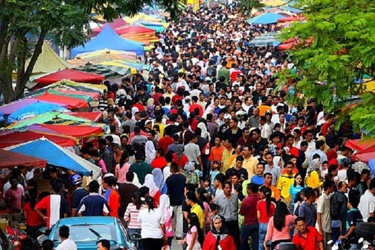 Bazar jajanan Ramadhan di Malaysia tahun 2018