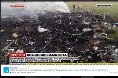Foto-foto Puing Pesawat Malaysia Airlines #MH17
