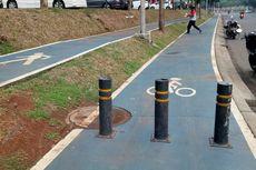 Ingat, Kendaraan Bermotor Masuk Jalur Sepeda Denda Rp 500.000