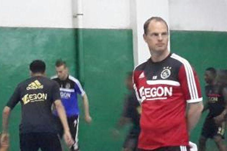 Pelatih Ajax Amsterdam, Frank de Boer.