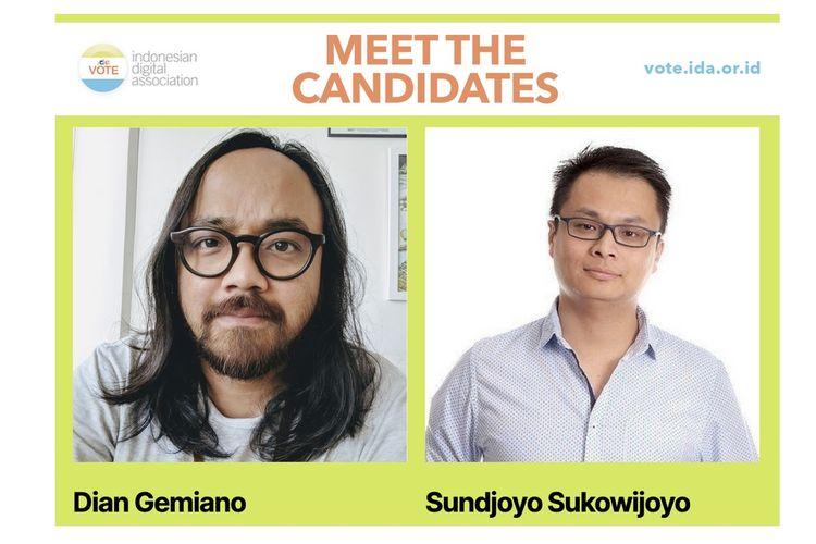 Dua kandidat Ketua Asosiasi Digital Indonesia (IDA)