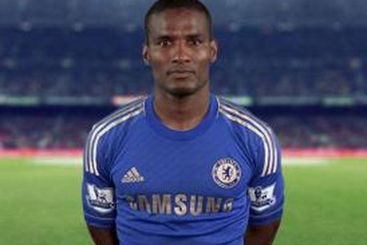 Florent Malouda, ketika masih berkostum Chelsea.