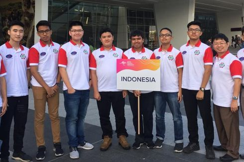 Bangga, Tim Olimpiade Fisika  Indonesia Raih 7 Medali di Ajang Asia
