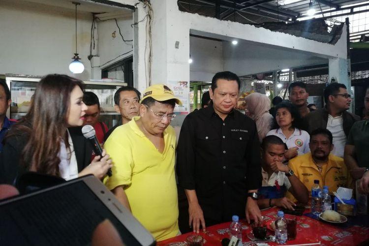 Artis Nafa Urbach, Pengacara kondang Hotman Paris Hutapea, dan Ketua DPR Bambang Soesatyo