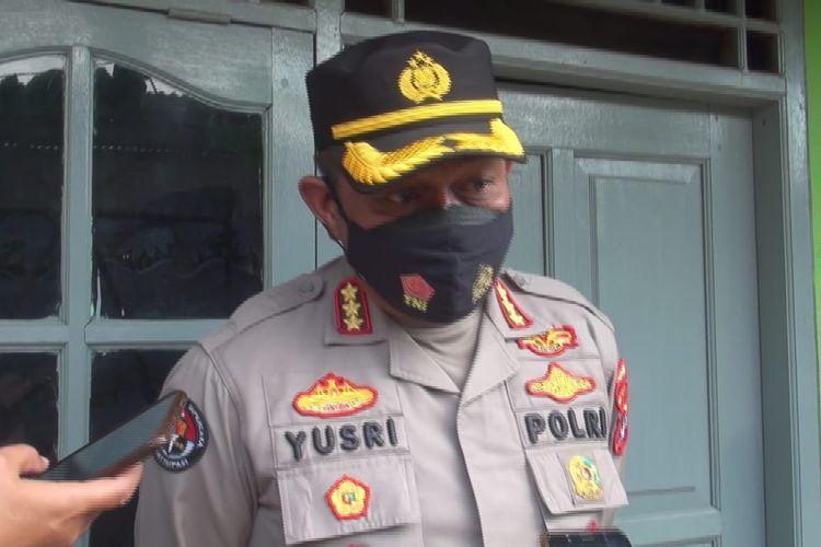 Kabid Humas Polda Metro Jaya Kombes Pol Yusri Yunus di Penggilingan, Jakarta Timur, Kamis (24/12/2020)