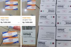Jokowi Tak Temukan Obat Pasien Covid-19 di Apotek, tapi Dijual Bebas di Grup Jual Beli Sepeda hingga Marketplace